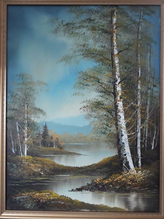 Wallace original painting - Wallace