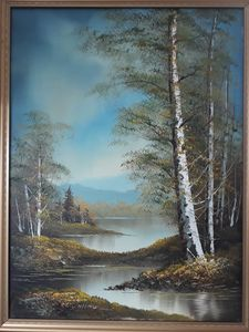Wallace original painting