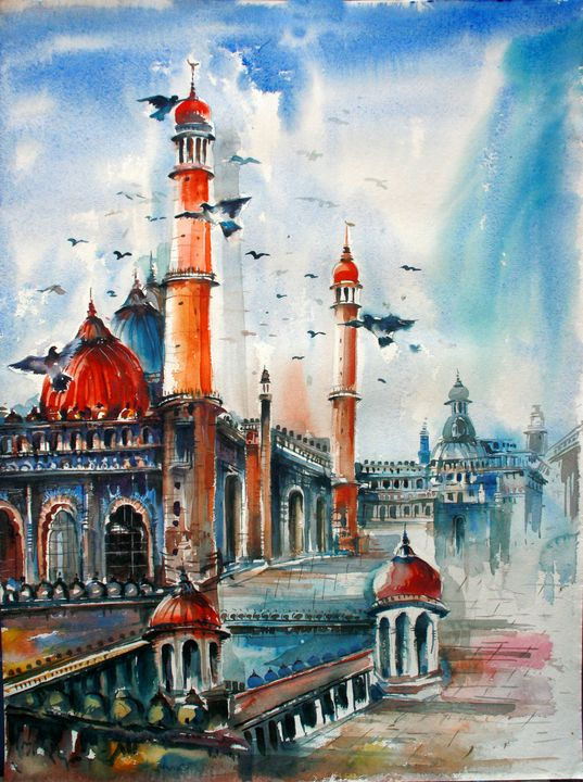 Imambara  historical place of india - Seema Maurya
