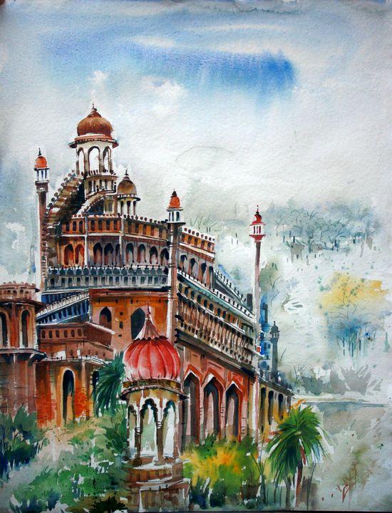 Chota Imambara lucknow - Seema Maurya