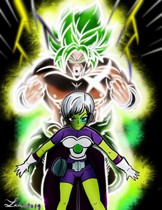 Broly and cheelai - Mother Nerd