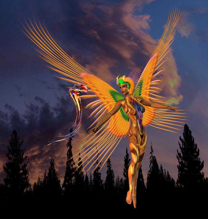light life form - FineArtLightWorks