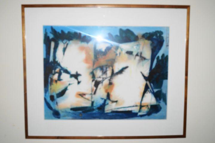 Abstract Art - Oscar Folk Collection
