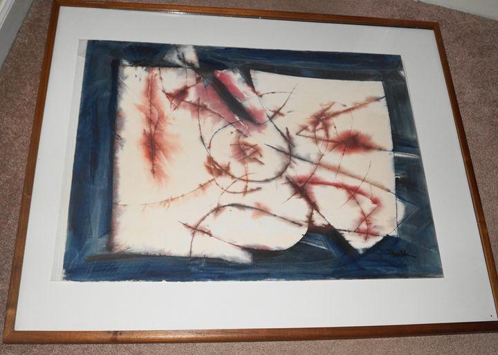 Geometric Abstract - Oscar Folk Collection