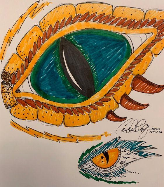 Dragon Eye - Carl Beatty Art Gallery