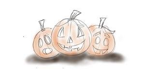 Pumpkin Trio - Carl Beatty Art Gallery