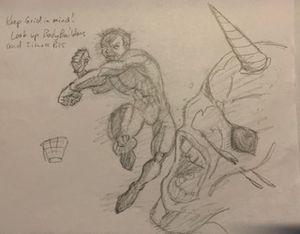 Super Hero Punch!