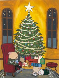 Evening before Christmas