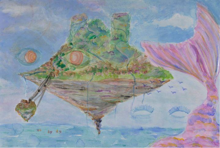 The Will of the Floating Island - Kaori IllO