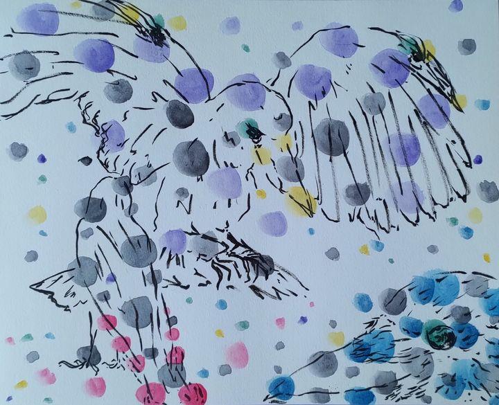 (mutant) crow - Kaori IllO