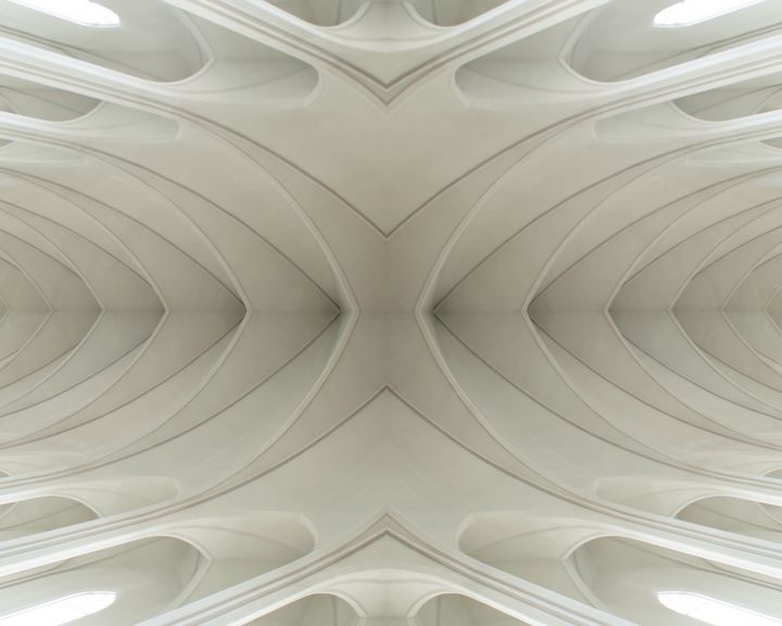 Cathedral Ceiling I - RA Williams