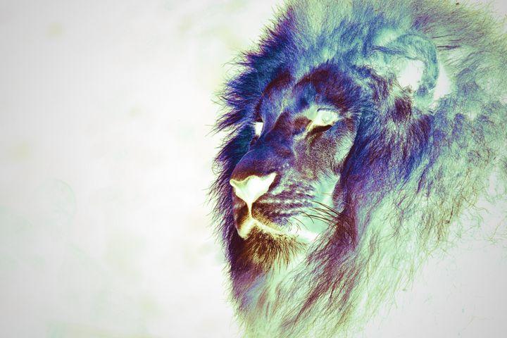 Rainbow Lion - RA Williams