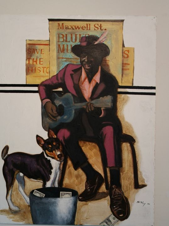 Maxwell Street Blues - John H. Sibley