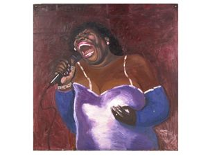 The Blues Singer