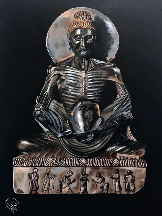FASTING BUDDHA - IRFAN MURTAZA