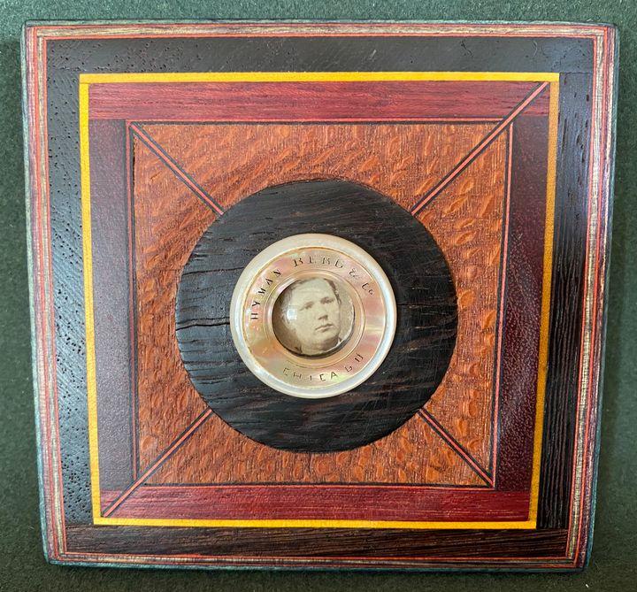 Wood Quilt Frame - Eric Hansen (Sleight of Hansen)
