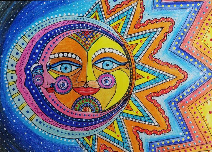 Sun and moon - Shital choksi
