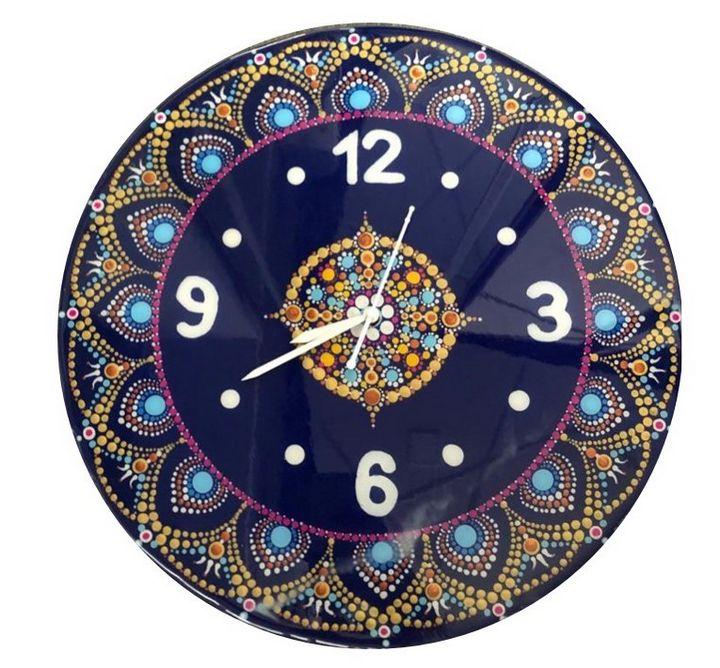 Mandala clock - Shital choksi