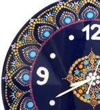Mandala art clock