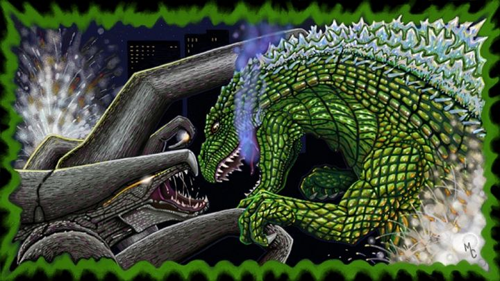 Godzilla - Battle for the Ages - Five Styx Studio
