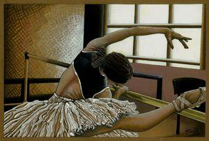 Ballerina study.