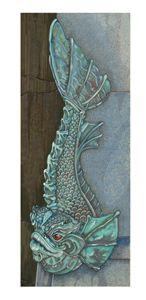 Copper fish fountain. - Five Styx Studio