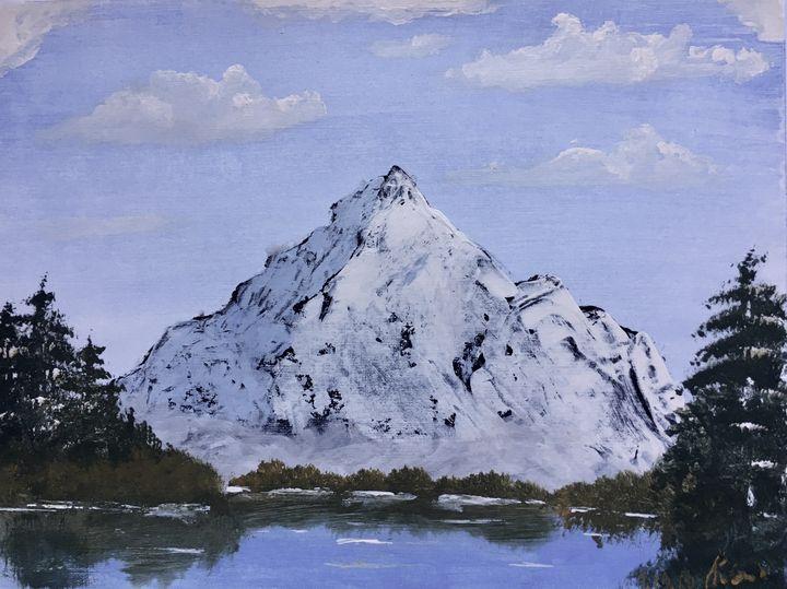 Snowy mountain peak - Okrot
