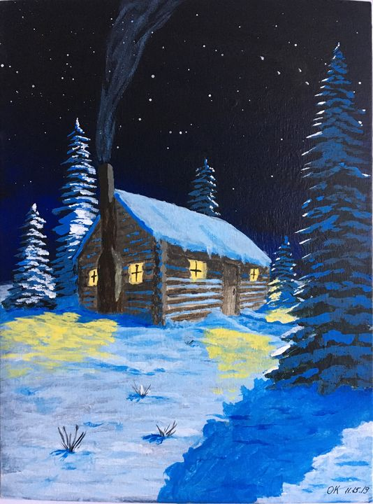 Winter night - Okrot