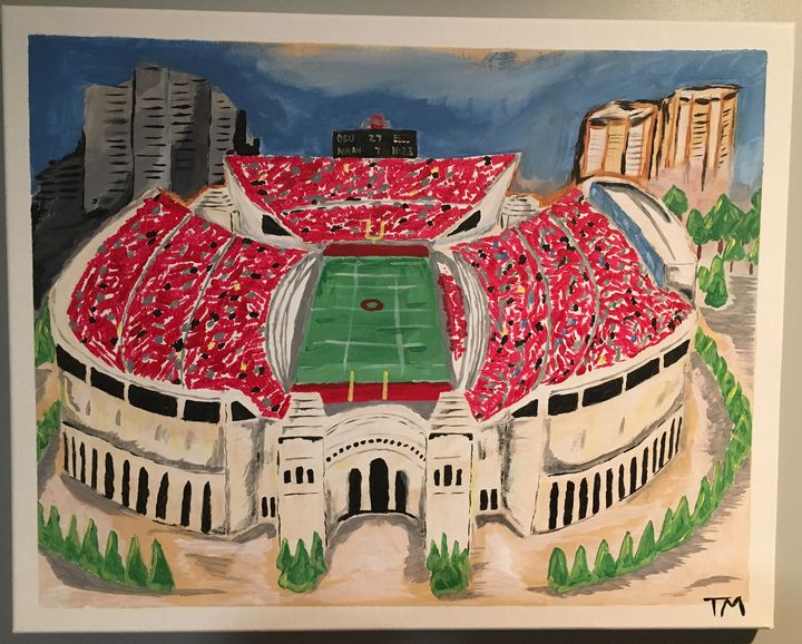 Ohio Stadium - Tyler Paints Co,