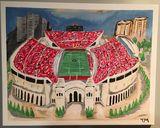 Ohio Stadium Original Painting