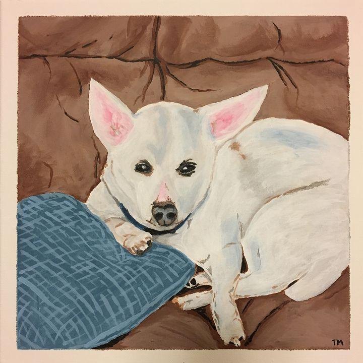 Custom Pet Portrait - Tyler Paints Co,