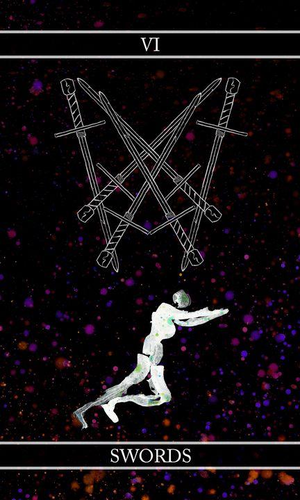 A Tarot of Ink - 06 of Swords - Wetdryvac.net