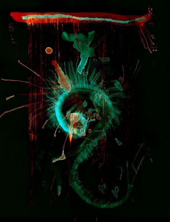 WDV - 047 - Spiral Dragon Tapestry - Wetdryvac.net