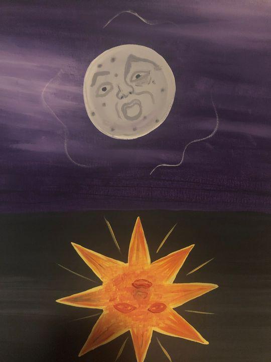 Moon and sun - Destany Berni