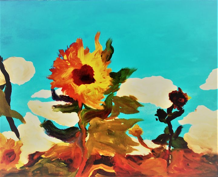 Janice's Sunflower - ulyspolarbear