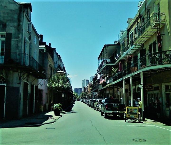 Blue Street, New orleans - ulyspolarbear
