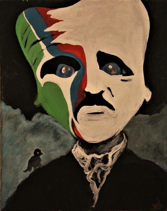 Poe, Dead Poets Art - ulyspolarbear
