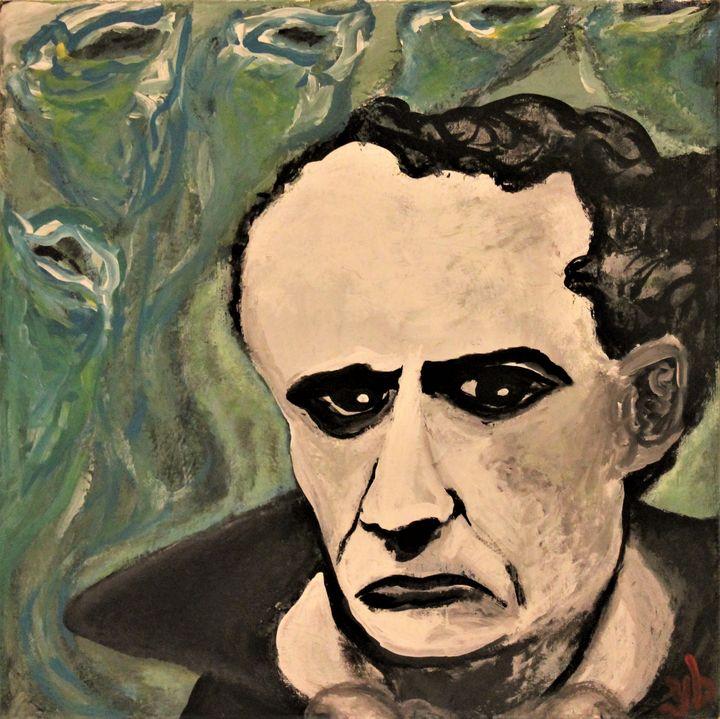 Baudelaire, Dead Poets Art - ulyspolarbear