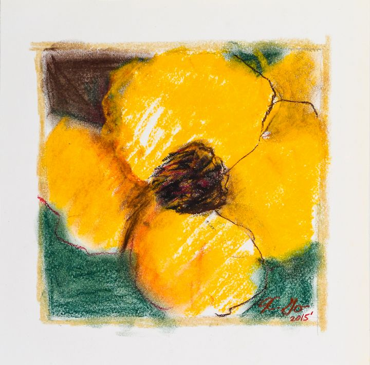 The Power of a Flower - Katy Go Art