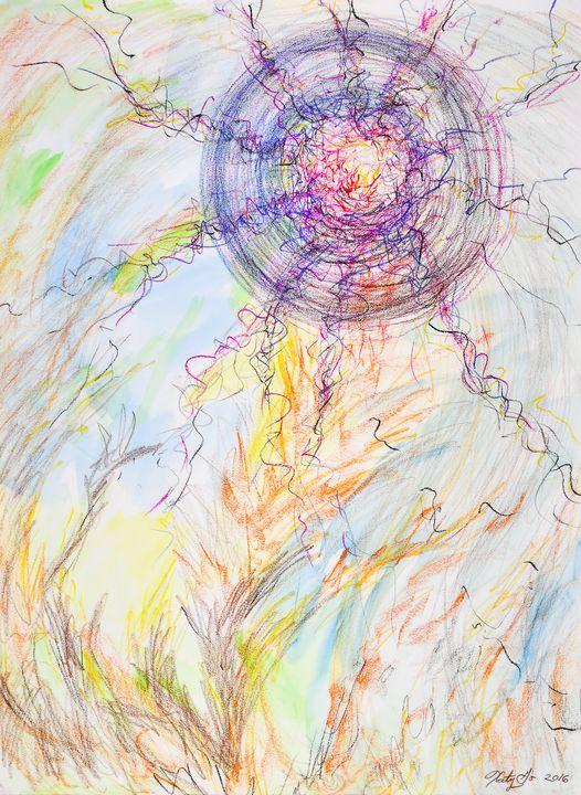 Spirit Informs Us - Katy Go Art
