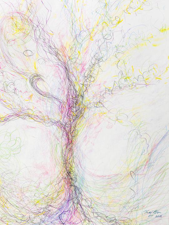 The Divine Tree - Katy Go Art