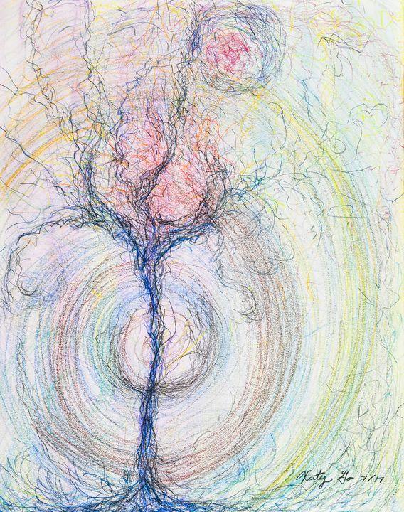 Being Tree - Katy Go Art