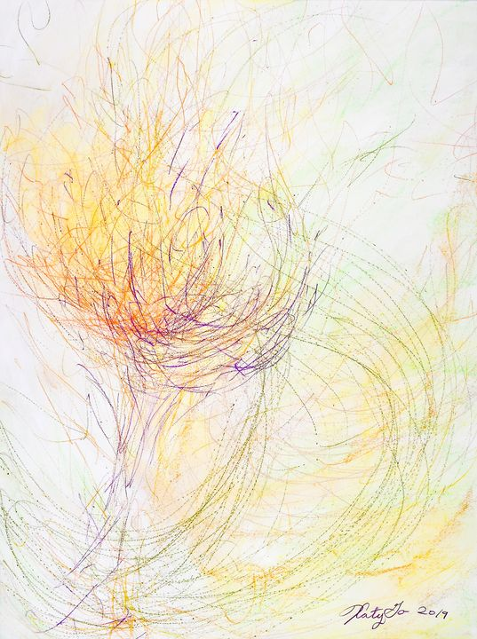 The Spark of Life - Katy Go Art