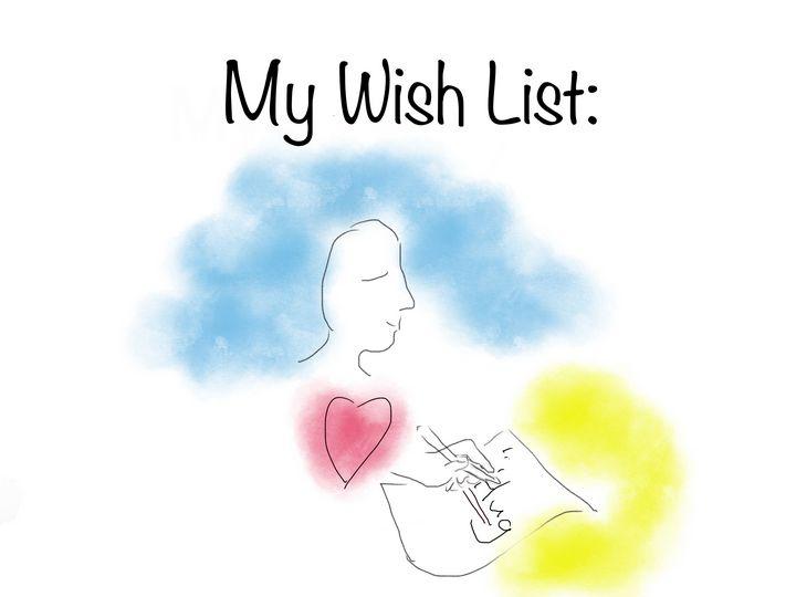 My Wish List - Katy Go Art