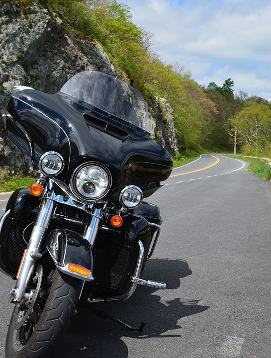 Harley Ride on Skyline Drive - NatureBabe Photos