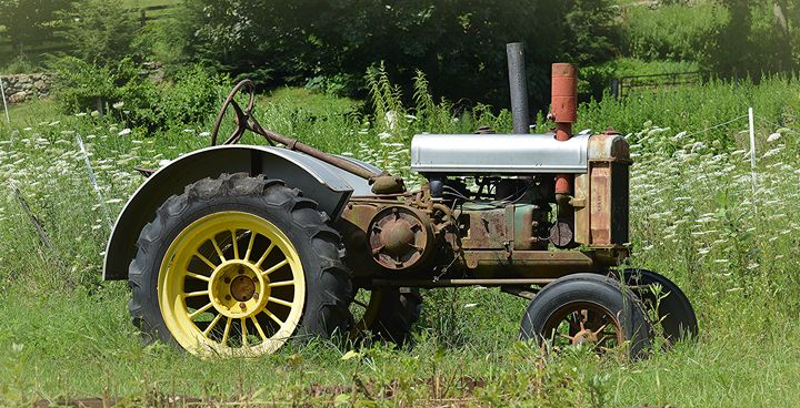Antique Tractor - NatureBabe Photos