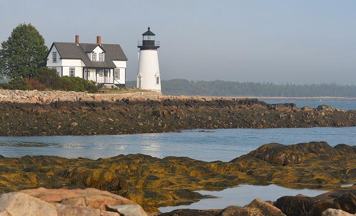 Prospect Harbor Lighthouse - NatureBabe Photos