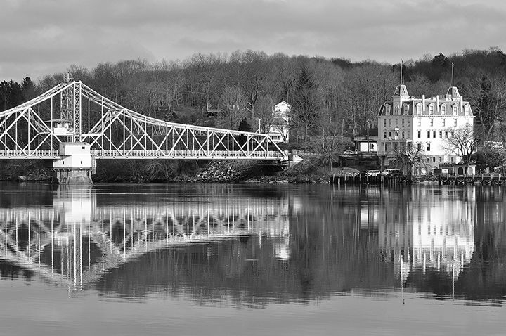 East Haddam Swing Bridge - NatureBabe Photos