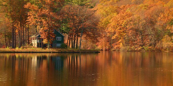 Autumn Island Cottage - NatureBabe Photos