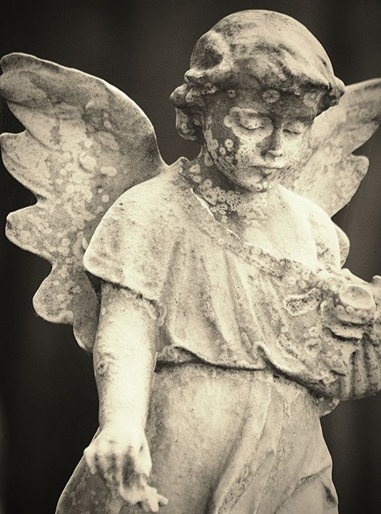 Child Angel Tombstone - NatureBabe Photos
